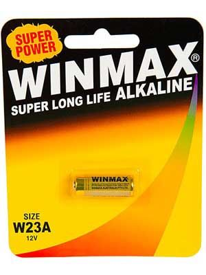 Winmax 23A C1 Alarm Battery: 1 Pack
