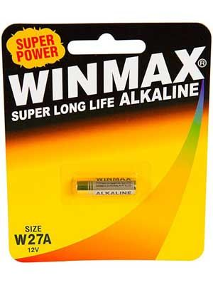 Winmax 27A C1 Alarm Battery: 1 Pack