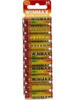 Winmax Ultra Alkaline AA Battery: 10 Pack - 12 Packs/Carton