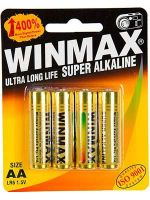 Winmax Ultra Alkaline AA Battery: 4 Pack - 12 Packs/Carton
