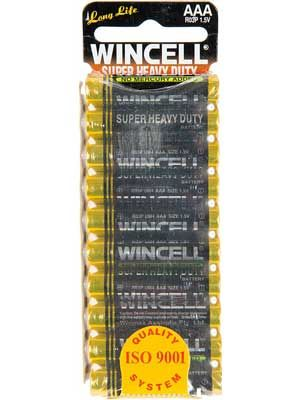 Wincell Super Heavy Duty AAA Battery: 10 Pack