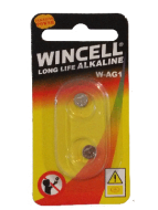 Wincell AG1 Coin Battery: 2 Pack