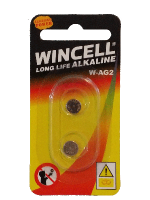 Wincell AG2 Coin Battery: 2 Pack