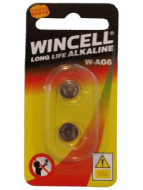 Wincell AG6 Coin Battery: 2 Pack