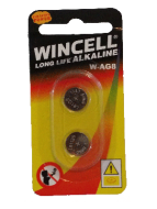 Wincell AG8 Coin Battery: 2 Pack