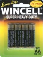 Wincell Super Heavy Duty AA Battery: 4 Pack